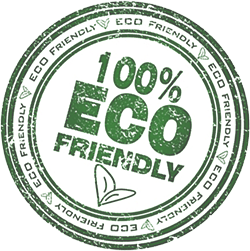 Logo 100% Eco Friendly