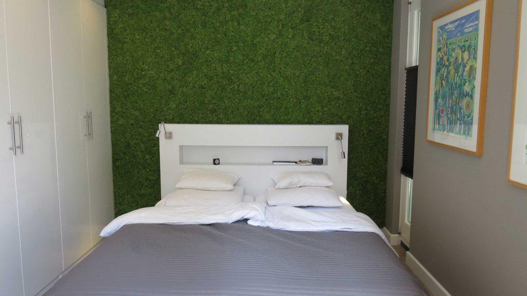 Natuur Behang Slaapkamer : Slaapkamer voorzien van een moswand! moswens moswanden