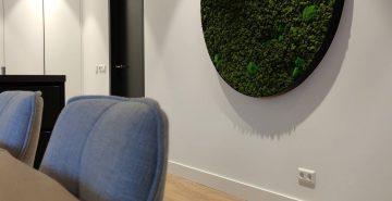 Moscirkel diameter 150cm akoestische kunst