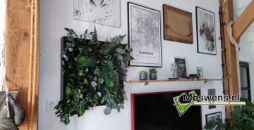 Jungleschilderij jellina detmar Moswens Moswand