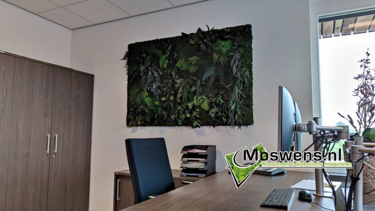 Junglewand kantoor Jungleschilderij