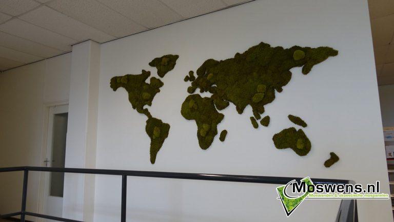 Moswereldkaart Moswens.nl Moswand Wereldkaart (1)