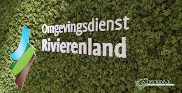Moswand omgevingsdienst Rivierenland